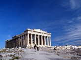 The Parthenon on the Acropolis Rock